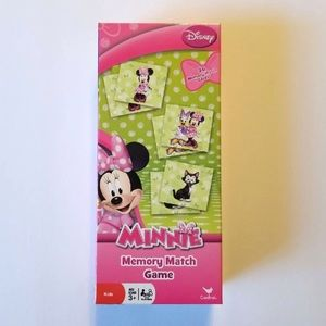 DISNEY MINNIE MOUSE 36 CARDS MEMORY MATCH GAME